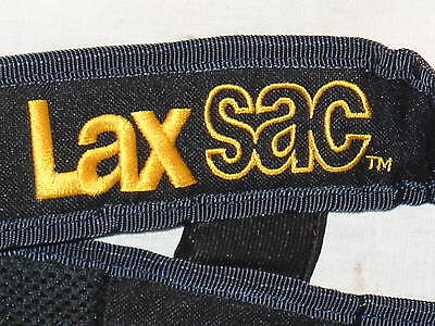 1 LAXSAC LAX SAC TWO STICK LACROSSE SLING PADDED HANDS FREE CARRY ALL BAG