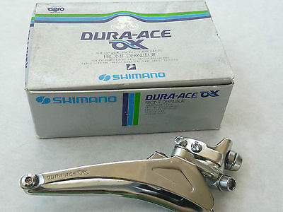 Dura Ace AX derailleur Braze on Shimano front 7320 for oval tubes Bicycle NOS
