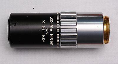 Mitutoyo Lcd Plan Nir 100x0.50 0.91 F200 Objective