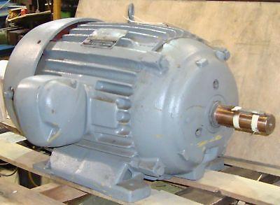 Rebuilt U.s. Electric Motor 20 Hp Rpm 1765 9037lr
