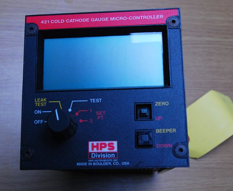 Hps Division 421 Cold Cathode Gauge Micro-controller