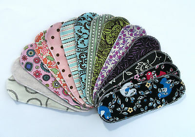 Pads Panty Liners - Reusable Cloth Menstrual Pad Panty Liner Mystery Pack10