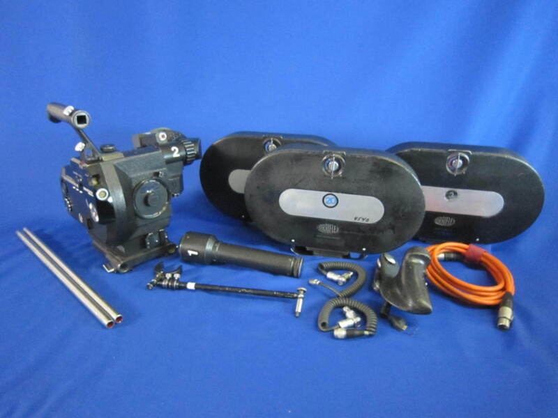 ARRI Arriflex III 35-3 35mm Motion Camera Package - Used