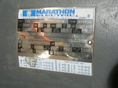 Marathon Electric Motor 40 Hp 3 Phase Type Tdr 324tstdr 8030anw
