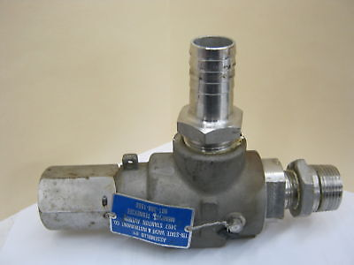 Teledyne 2850s4 34 X 1 Stainless Relief Valve