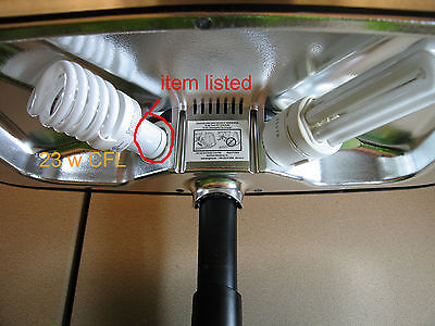 Aerogarden 100629 100340 MaxGrow light adapter to regular CFL Bulb