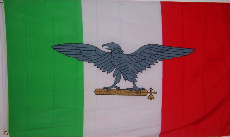 NEW 3x5 ITALY WWII EAGLE ITALIAN FLAG better quality usa seller