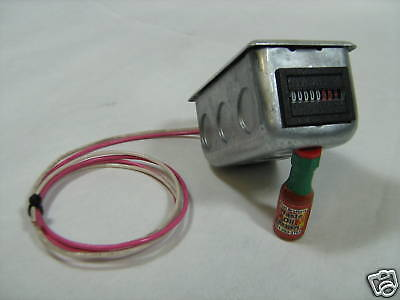 Waste Oil Heater Parts Hour Meter Wmounting Box 10011wb Great For Lanair 120 V