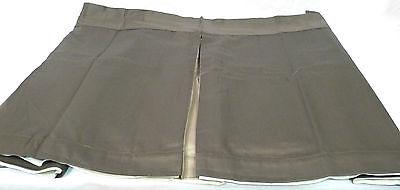 Archipelago 100% Cotton Sateen Mink/Taupe Pleated Queen Bedskirt (Arc Queen Bed)