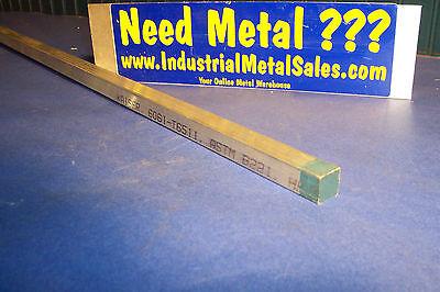 34 X 34 X 12-long 6061 T651 Aluminum Square Bar--.750 6061 Square Bar