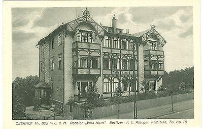 """Oberhof, Pension """"Villa Horn"""", um 1920"""