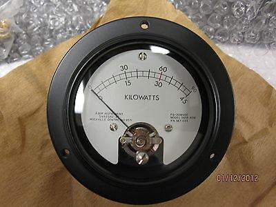 A M Instruments Kilowatt Meter 0 - 45kw 365-033