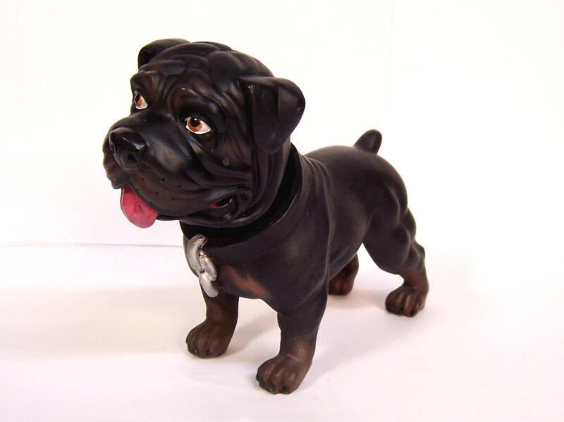 "Hood Hounds Bobble Nodder Hound SUGA BEAR Rottweiler Dog 6"""