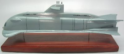 Ssrn Seaview Submarine Wood Model Replica X Large Free Shipping