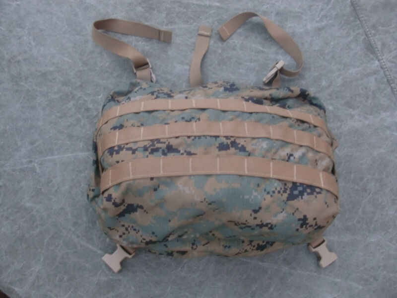 USMC MARPAT ILBE Arcteryx Mainpack GEN 2 Lid w/radio pouch - Very Good Condition