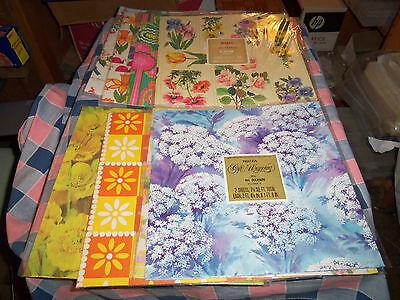 Gift Wrap Box (NOS Buzza Gift Wrap  Variety Beautiful Patterns  Use Drop-Down Box to)