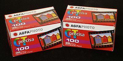 DIAFILM  AgfaPhoto CT 100 precisa  135/36    2 Filme . MHD/expiry date 04/2020