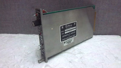 Ectron Differential Dc Amplifier 687ahlq-5-m1171 Used 687ahlq5m1171