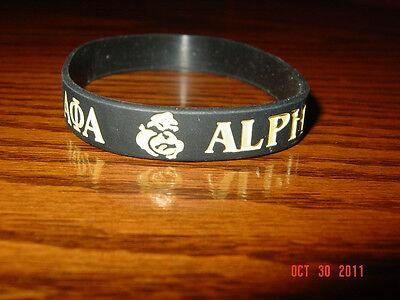 Alpha Phi Alpha Greek Fraternity Wristbands