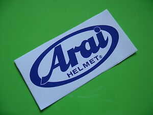 ARAI stickers/decals x2