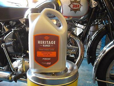 Classic Engine Oil SAE40 monograde 5 litres detergent free Vintage Veteran #2