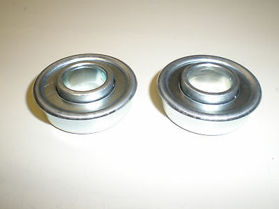 Flanged steel roller bearings used on  734-04226A Cub Cadet wheel NEW!