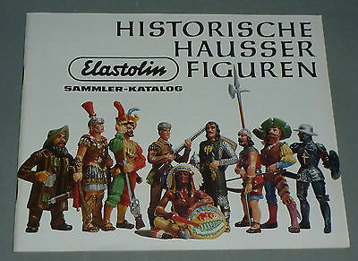 "Alter Elastolin Katalog "" Historische Hausser Figuren "" 60 Seiten"
