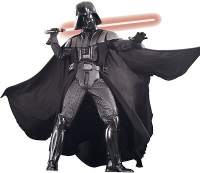 Darth Vader-kostüm Supreme (DARTH VADER SUPREME EDITION XL PLUS COLLECTOR LICENSED RUBIES Star Wars Costume)