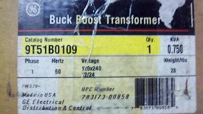 GENERAL ELECTRIC BUCK BOOST TRANSFORMER 9T51B0109 NEW 9T51B0109