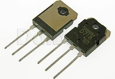 2sd718 Original Pulled Toshiba Silicon Npn Power Transistor D718