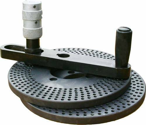 """The dividing plate for  6"""", 8"""" ,10"""" and 12"""" rotary tables"""