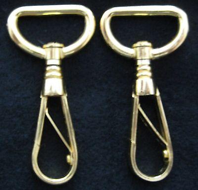 Civil War Sword Belt Hanger Snap Swivels (Set of 2)