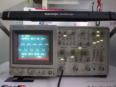3610 Low Hours Refurbed Calibrated Tektronix 2467bhd 2467b Hd Oscilloscope