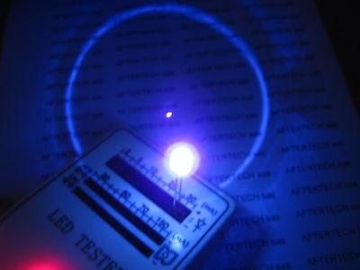 5mm 20pz LED VERDI ULTRALUMINOSI FLAT HEAD 13/'000mcd
