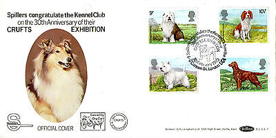 7 FEBRUARY 1979 DOGS BENHAM BOCS 7 CARRIED FIRST DAY COVER CRUFTS LONDON SHS