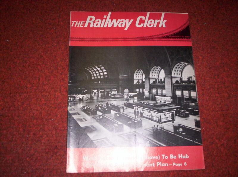 Railway Clerk Magazine February 15, 1969