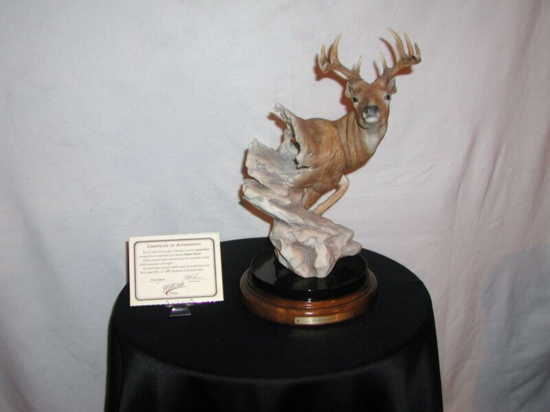 Mill Creek Studio---Turn About---Deer Collector Statue