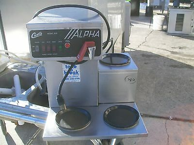 Curtis Auto 3 Elements Coffee Maker Water Tab Mod Alpha 900 Items On E Bay