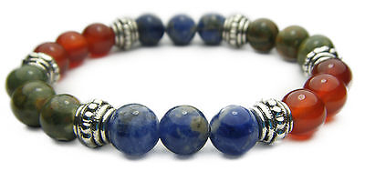 PRESENT IN THE NOW (Mindfulness) 8mm Crystal Intention Bracelet - Healing Stone