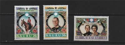 Nauru 1982 Royal Visit SG 272/4 MNH