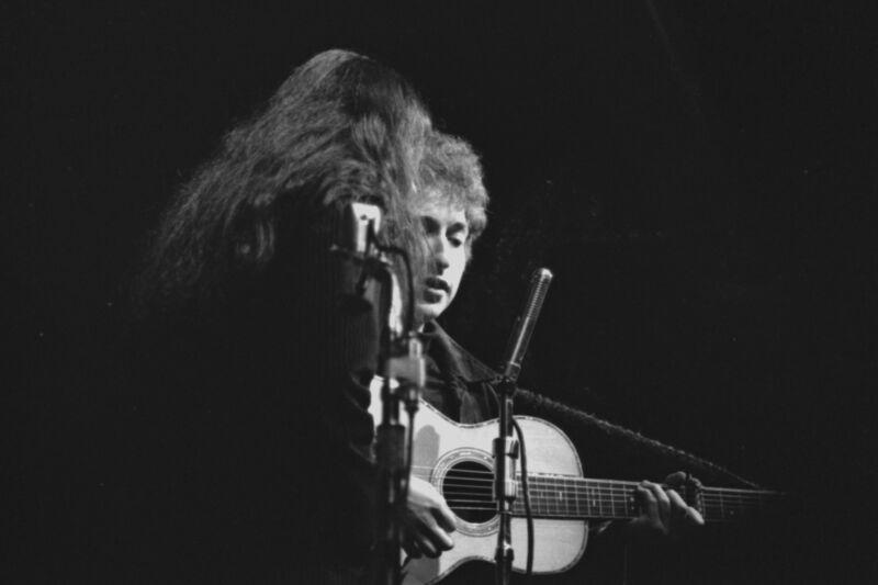 Bob Dylan with Joan Baez 4x6 Vintage 60