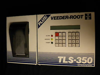 Rebuilt Veeder-root Gilbarco Tls-350 Plus Console With Printer 4-probe Module