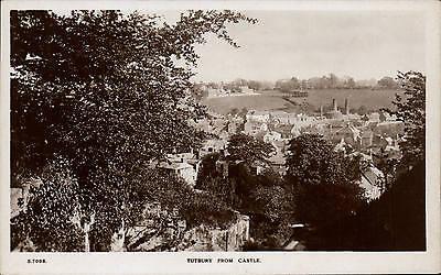 Tutbury Castle (Tutbury from Castle by WHS Kingsway # S 7098.)
