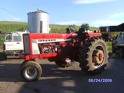 Farmall International Ih 360 414 436 Dt466 Engine Adapter Plate