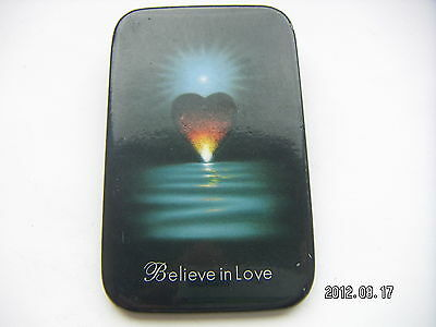 BELIEVE IN LOVE POP MUSIC PICTURE BADGE