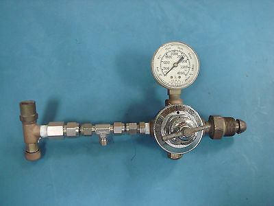 Airco Cga580 Used Regulator Wu.s. Gauges