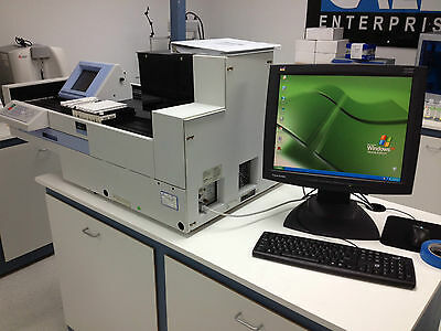 Perkin Elmer Wallac Wizard 1470-020 Gamma Counter With Computer And Cables