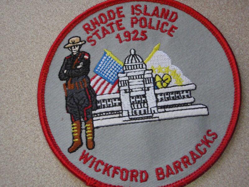 RHODE ISLAND STATE POLICE  WICKFORD  BARRACKS