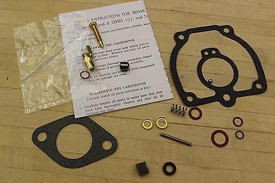 Carburetor Kit Repair For Ih M-mv6 Series 1 141 38 Up-draft Carburetors