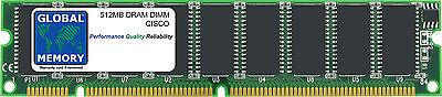 512MB DRAM DIMM CISCO 12000 routeurs prp-1/prp-2 Itinéraire Processeurs